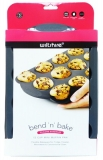 Silicone Muffin Pan 12 Cups W3227