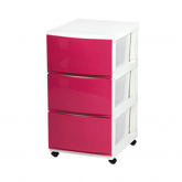 Compact Stocker 3 Tier Storage with Wheels 3990