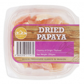 Dried Papaya 250g