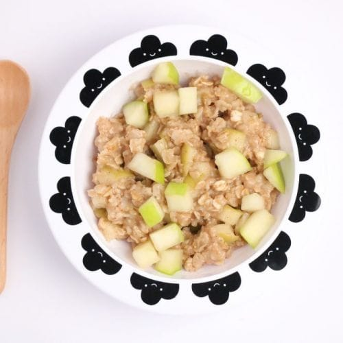 Goodness Gang Kids Recipe – Apple Cinnamon Oatmeal