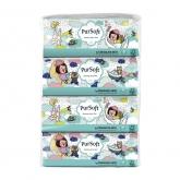 3 Ply Chocolate Rain Soft Pack Facial Tissue 4X130Sheets