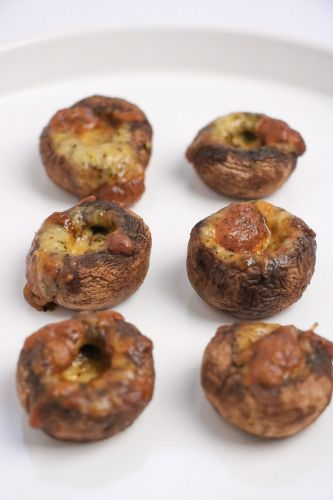 Goodness Gang Kids Recipe - Mushroom Cheese Bites