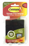 Picture Hanging Strips - 5 Medium 5 Large 17211BLK