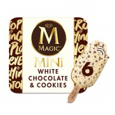 Stick Ice Cream Mini - White Chocolate & Cookies 6sX55ml