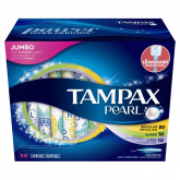 Pearl Plastic Triplepack Unscented Tampons  50s