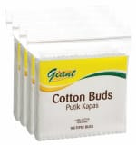 Cotton Buds 4sX160s