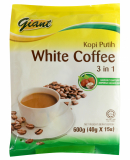 3 In 1 White Coffee Hazelnut 15sX40g