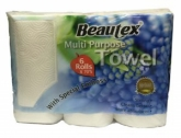 Multi Purpose Kitchen Paper Towel 6X70Sheets