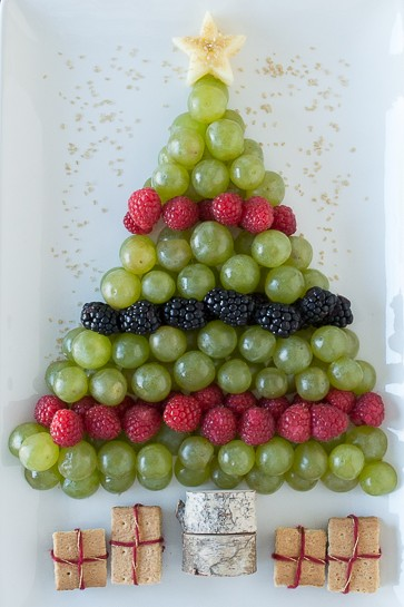 Christmas Tree Fruit Platter.35 Easy Christmas Appetizers You Need To Make This Holiday