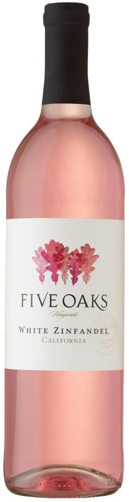 White Zinfandel Five Oaks