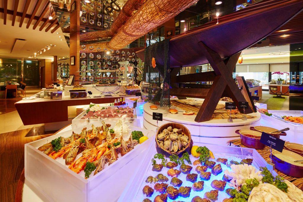 Halal buffet Aquamarine